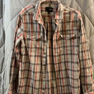 Men's Hurley Flannel Shirt